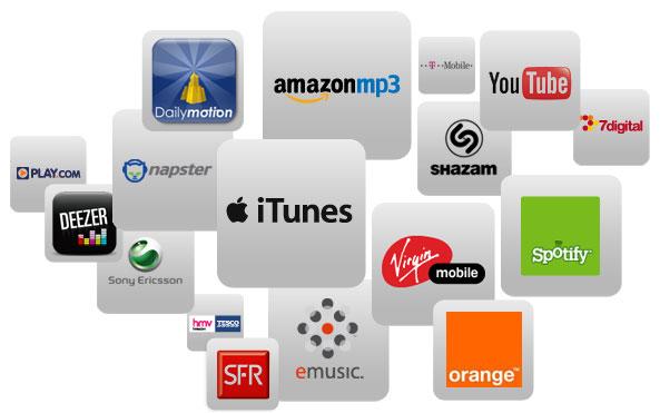 Die wichtigsten digitalen Stores und Streaming-Services